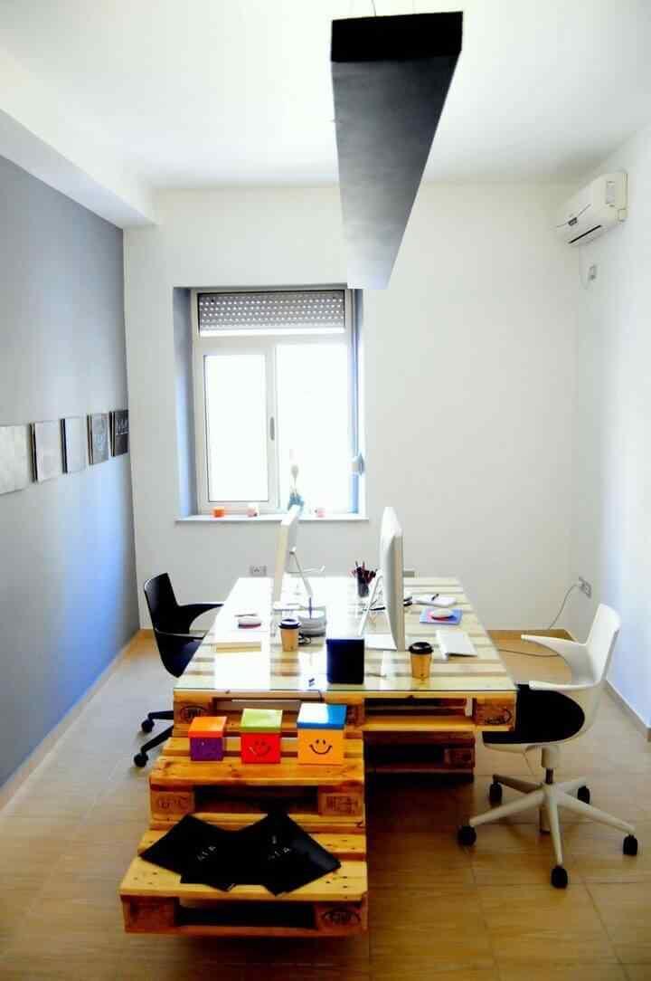 mueble de pale para oficina escritorio pc
