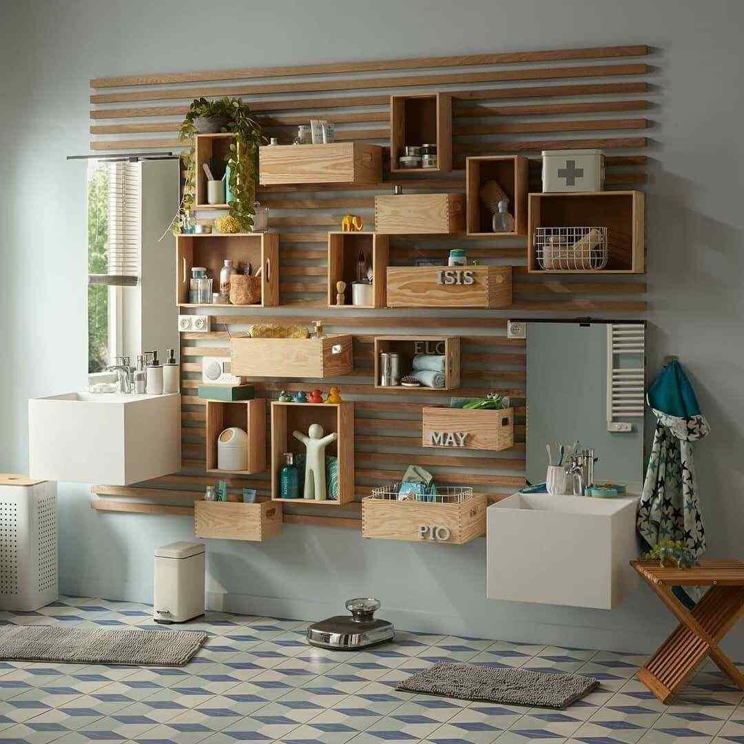 mueble de palet para living