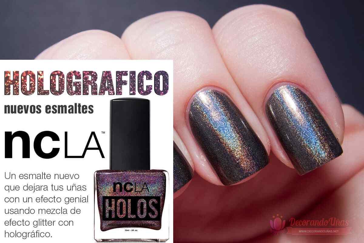 Esmaltes holograficos by NCLA