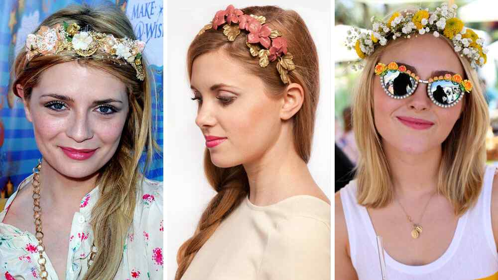 6 Ideas de peinados para usar con corona