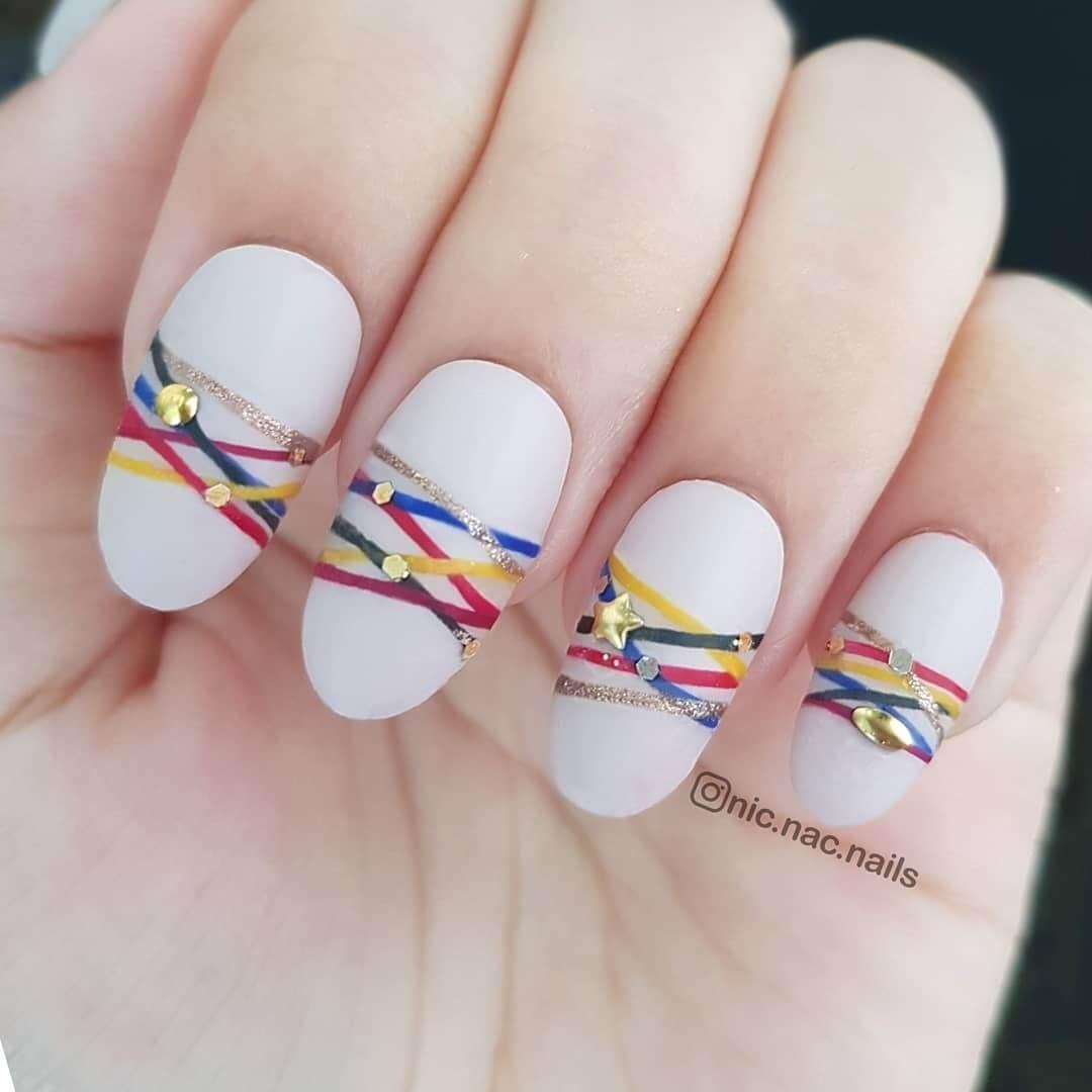 decoracion de uñas brazaletes