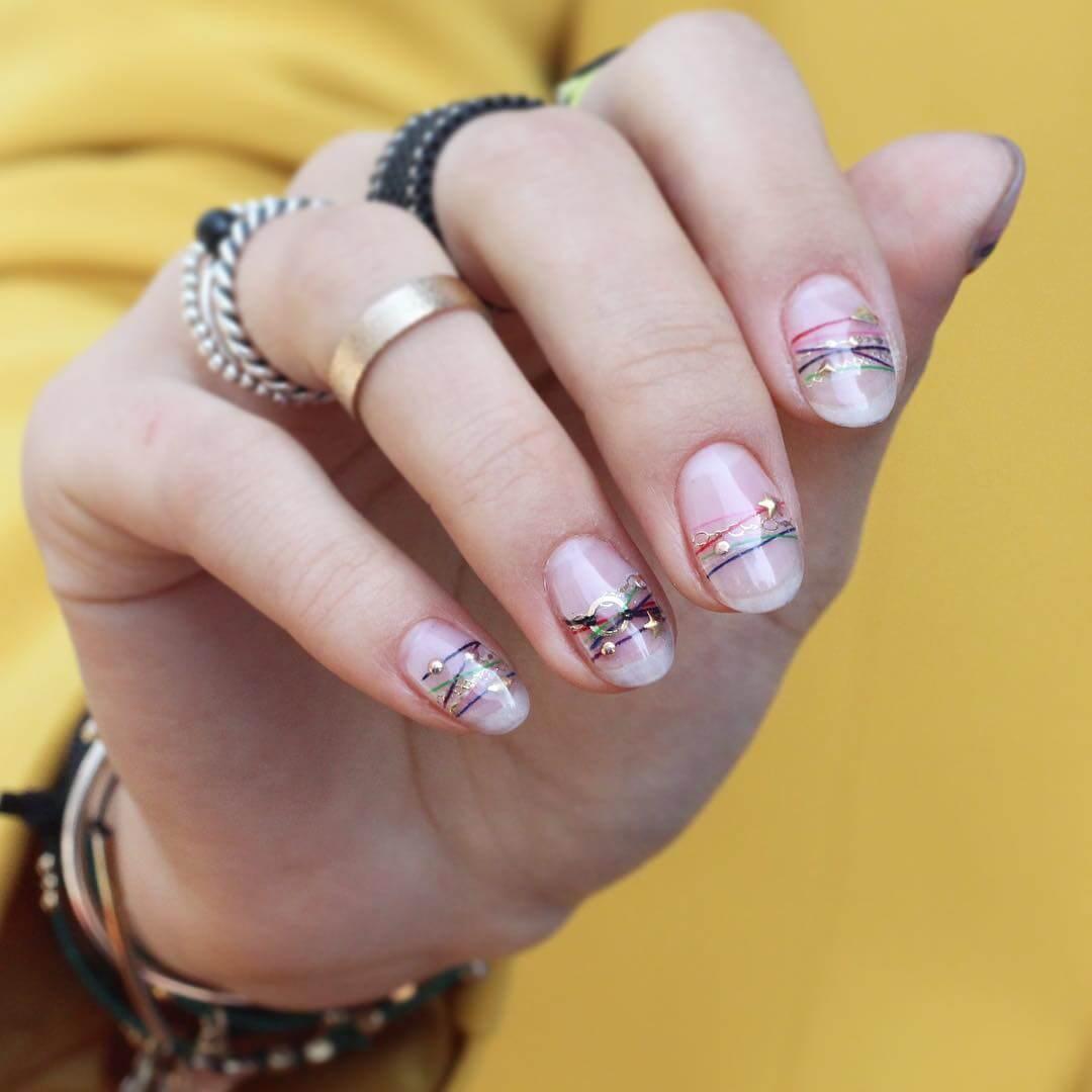 diseño de uñas brazaletes