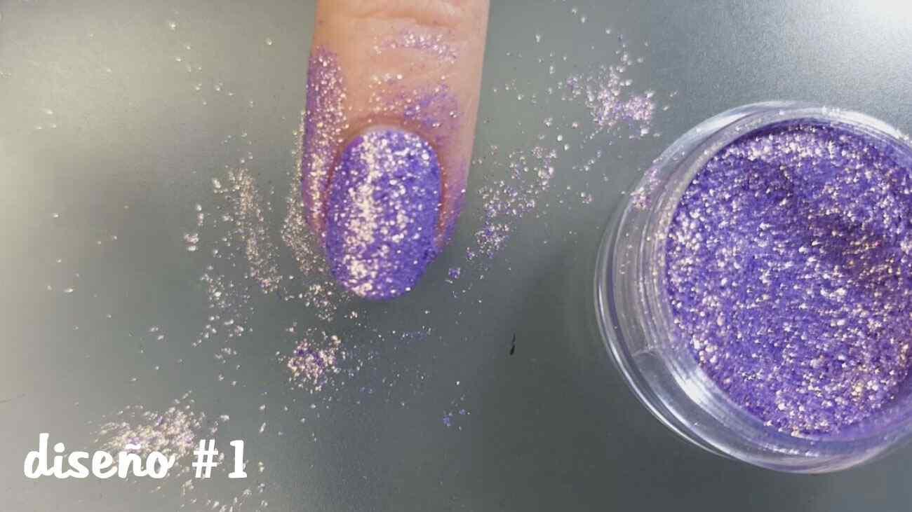 diseno-unas-purpurina