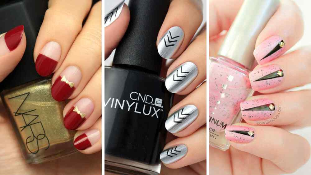 Decorated nail images