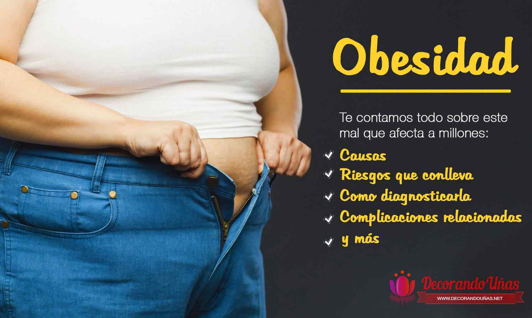 obesidad problemas tratamiento causas