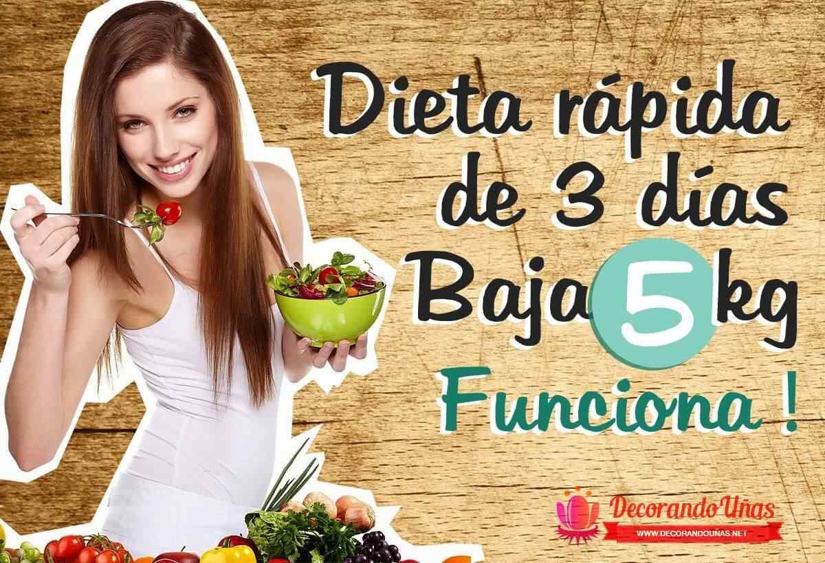 Dieta facil para adelgazar 5 kilos