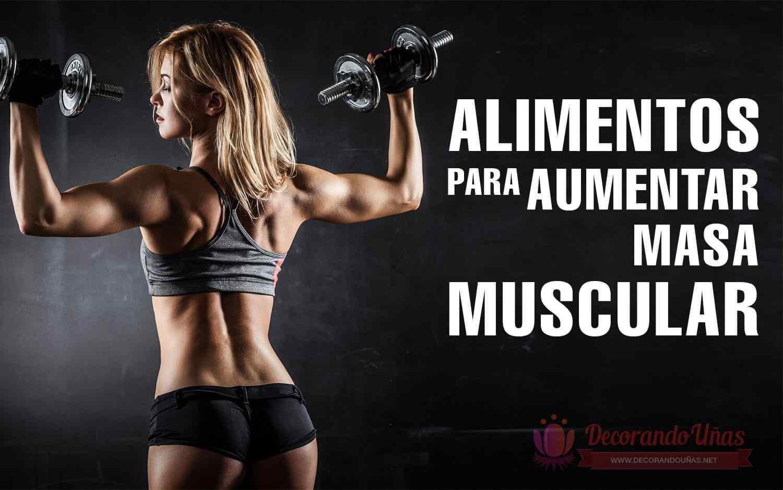 Dieta diaria para ganar masa muscular hombre