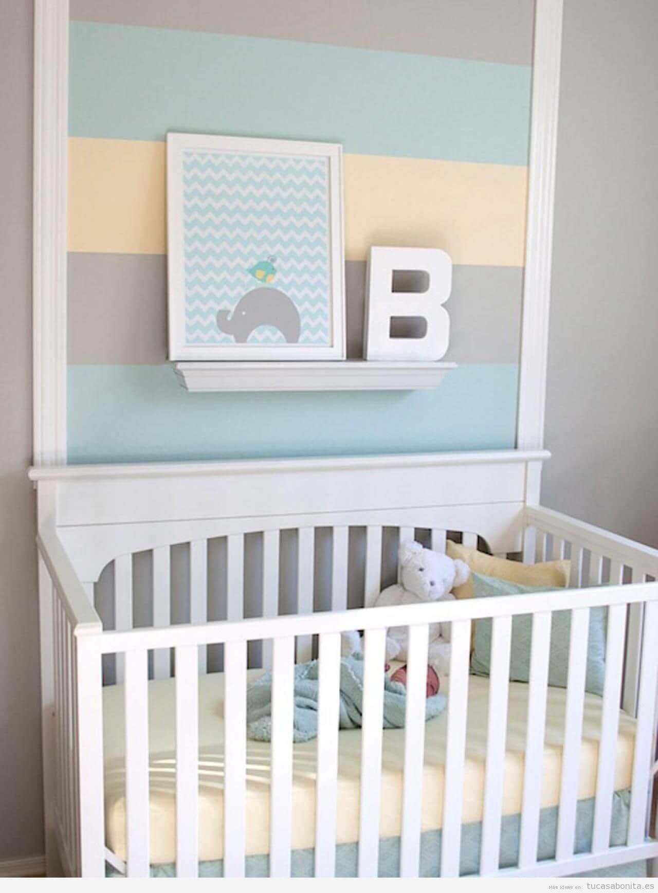 cuadros y letras cuartos infantiles