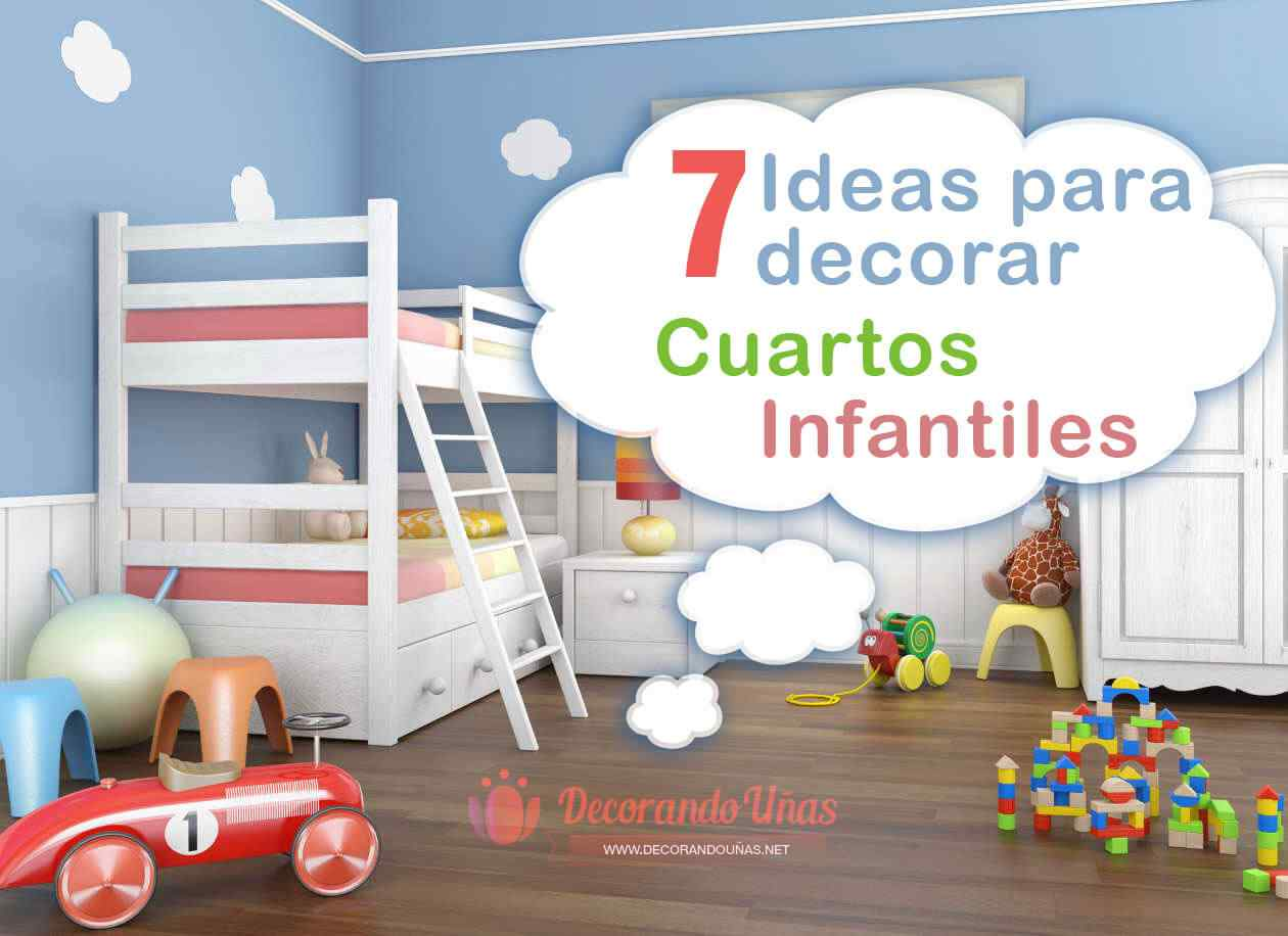 ideas para decorar habitacion infantil