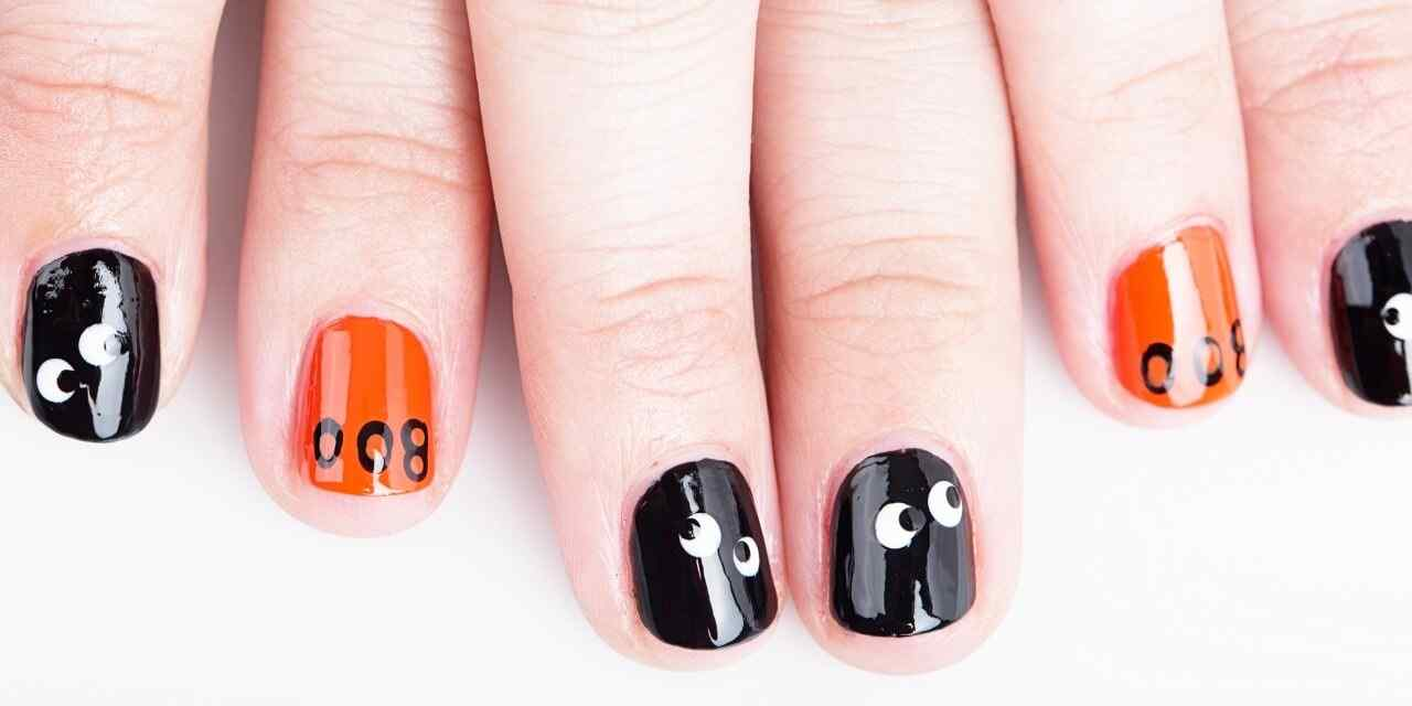 Halloween nail art ideas