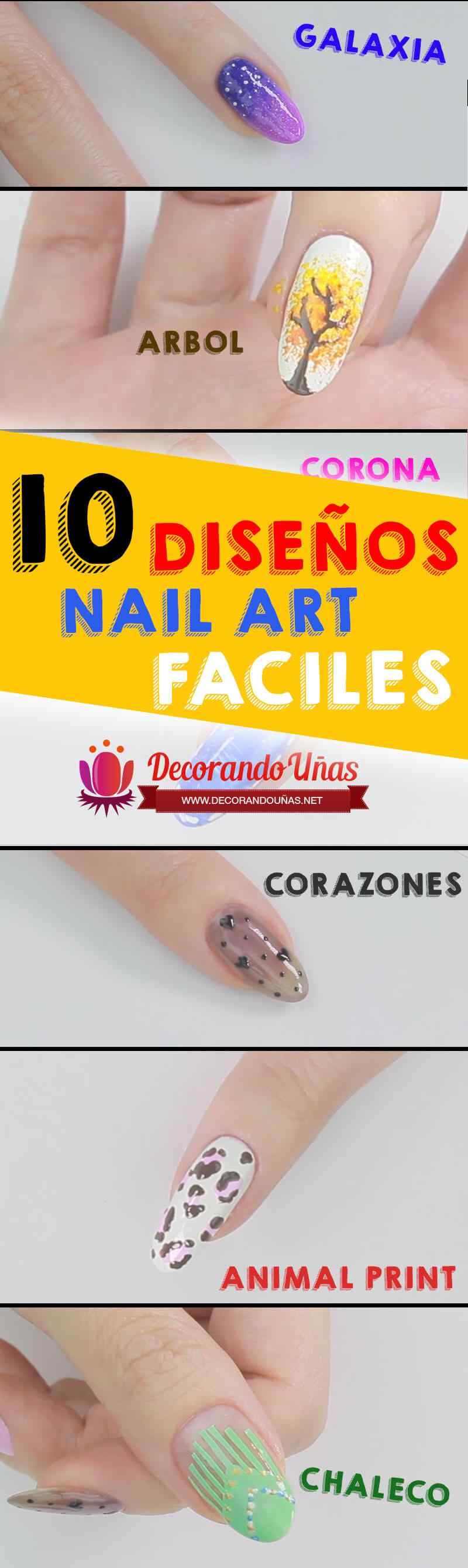 unas-faciles-pinterest-nailart