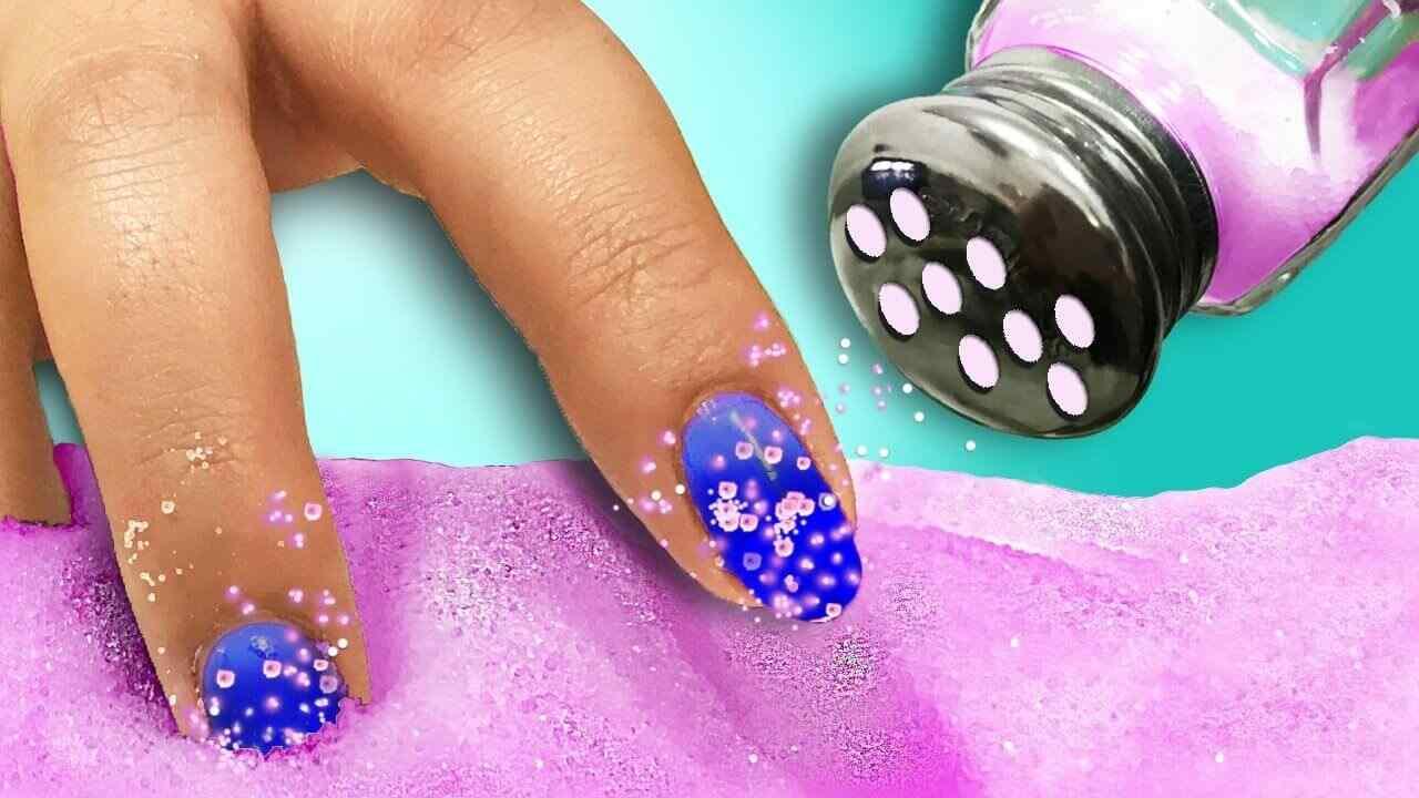 Como hacer esmalte de uñas en polvo