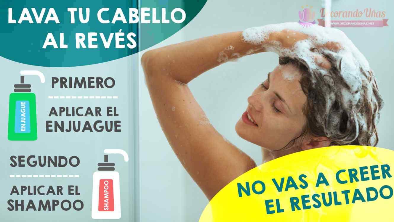 lavar-el-pelo-al-reves-tecnica