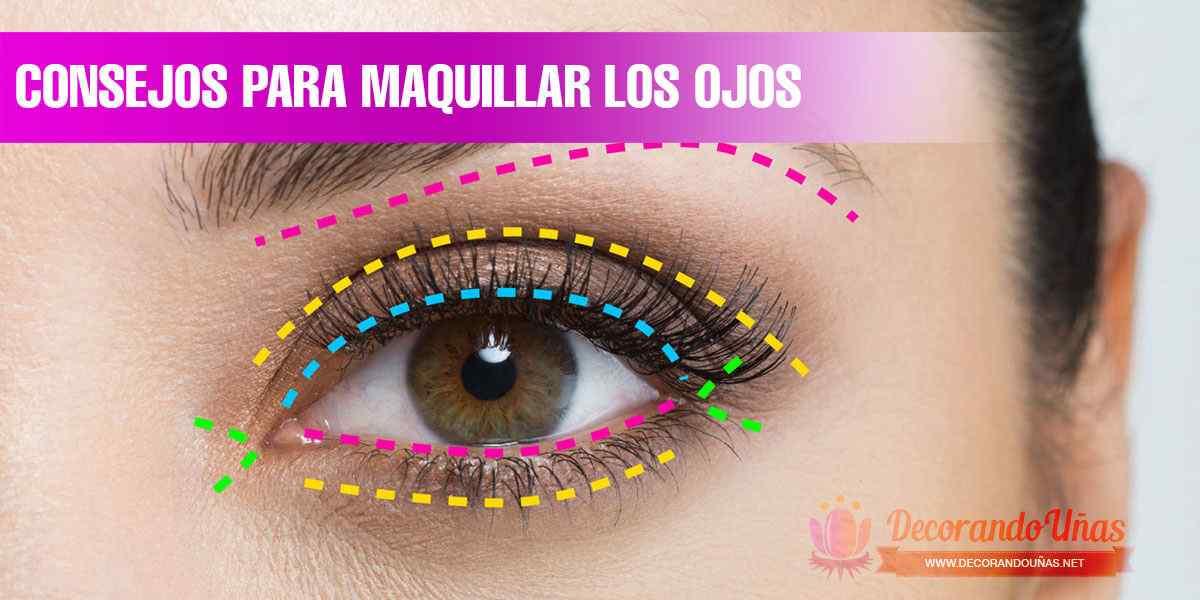Maquillaje de ojos - Tips, trucos y tutoriales 1