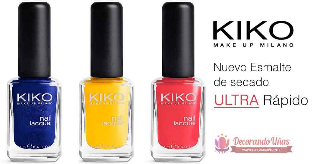 Kiko : El esmalte pequeño de secado ultra rápido! 1
