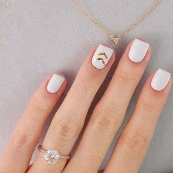 decoracion facil para uñas cortas