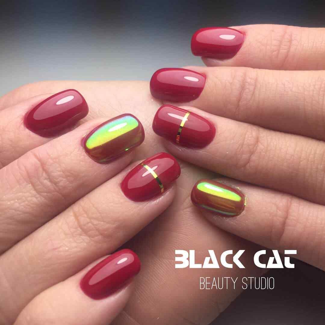 diseños faciles de uñas cortas