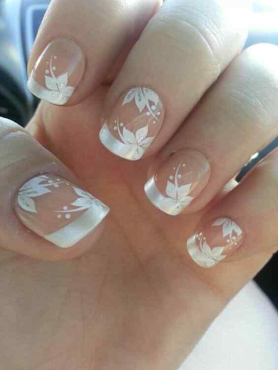 uñas decoradas para novias