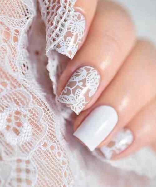 uñas decoradas para casamiento