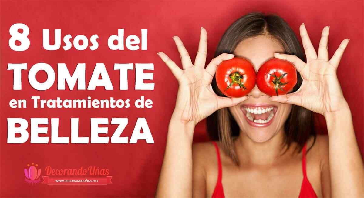 Usos del tomate en tratamientos de belleza