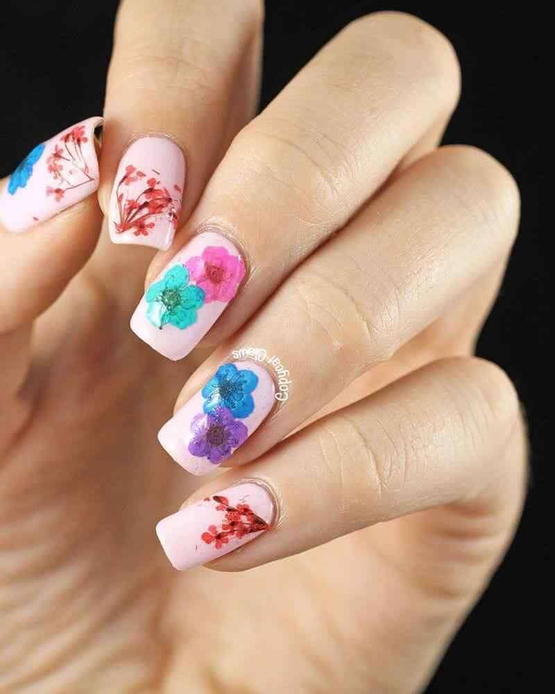 French nails art images