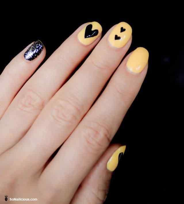Uñas de amor con corazones para las románticas! + 170 diseños 20