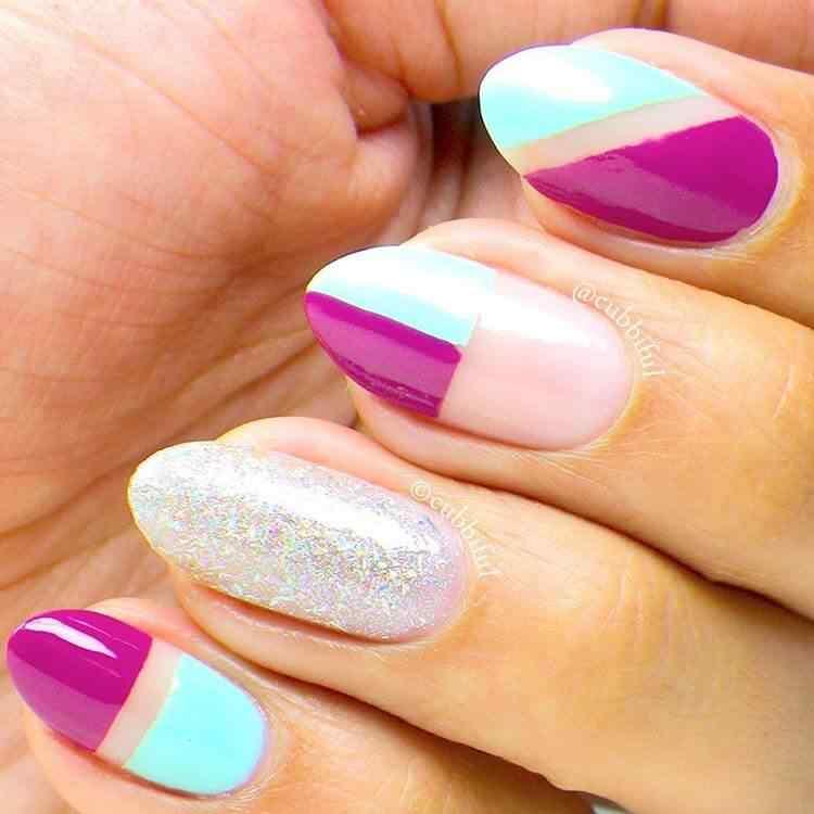 tendencia diseños de uñas