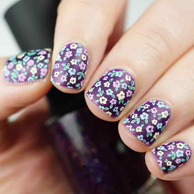 uñas decoradas tendencia