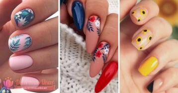decoracion de uñas para el verano