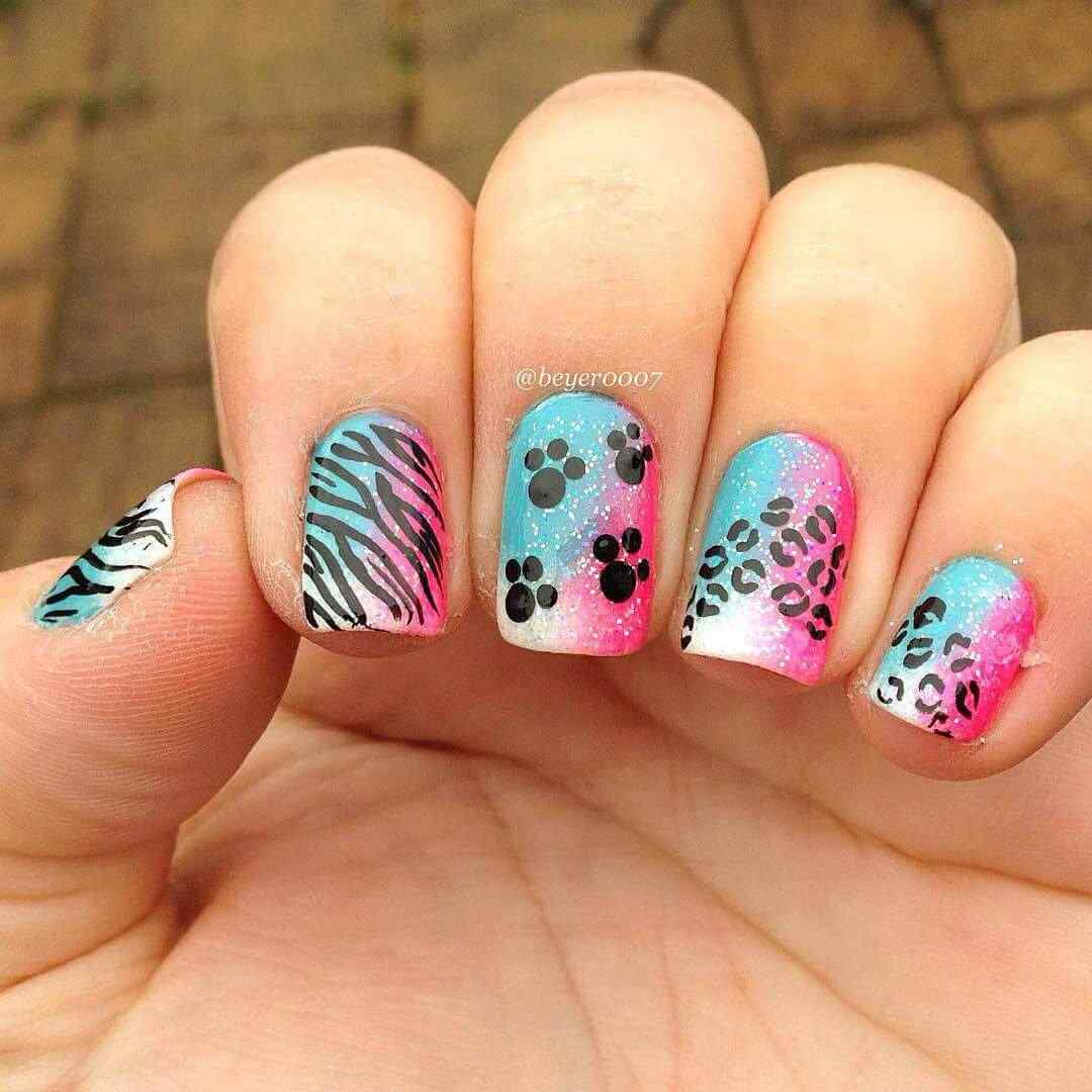 150 u as decoradas animal print u as decoradas nail art for Decoracion unas