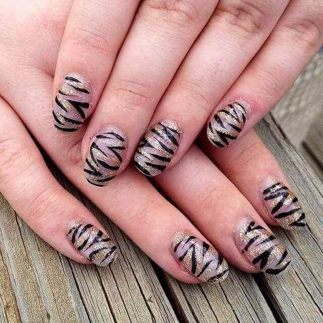 150 u as decoradas animal print u as decoradas nail art for Disenos de unas