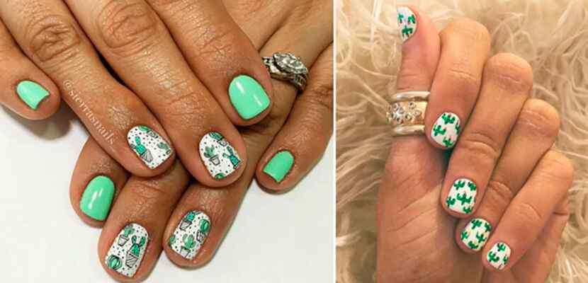 +110 Fotos de uñas decoradas para el verano - Summer Nail Art 5