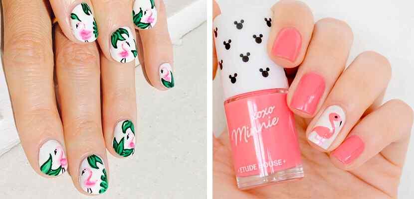 +110 Fotos de uñas decoradas para el verano - Summer Nail Art 4