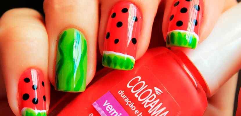 +110 Fotos de uñas decoradas para el verano - Summer Nail Art 1