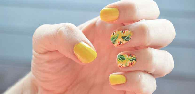 +110 Fotos de uñas decoradas para el verano - Summer Nail Art 8