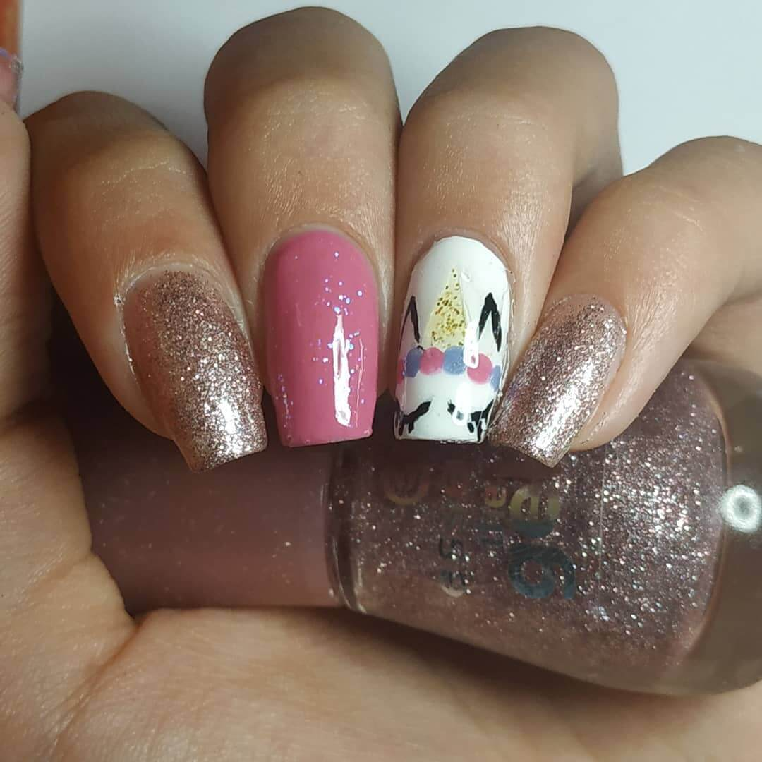 uñas de unicornio para verano