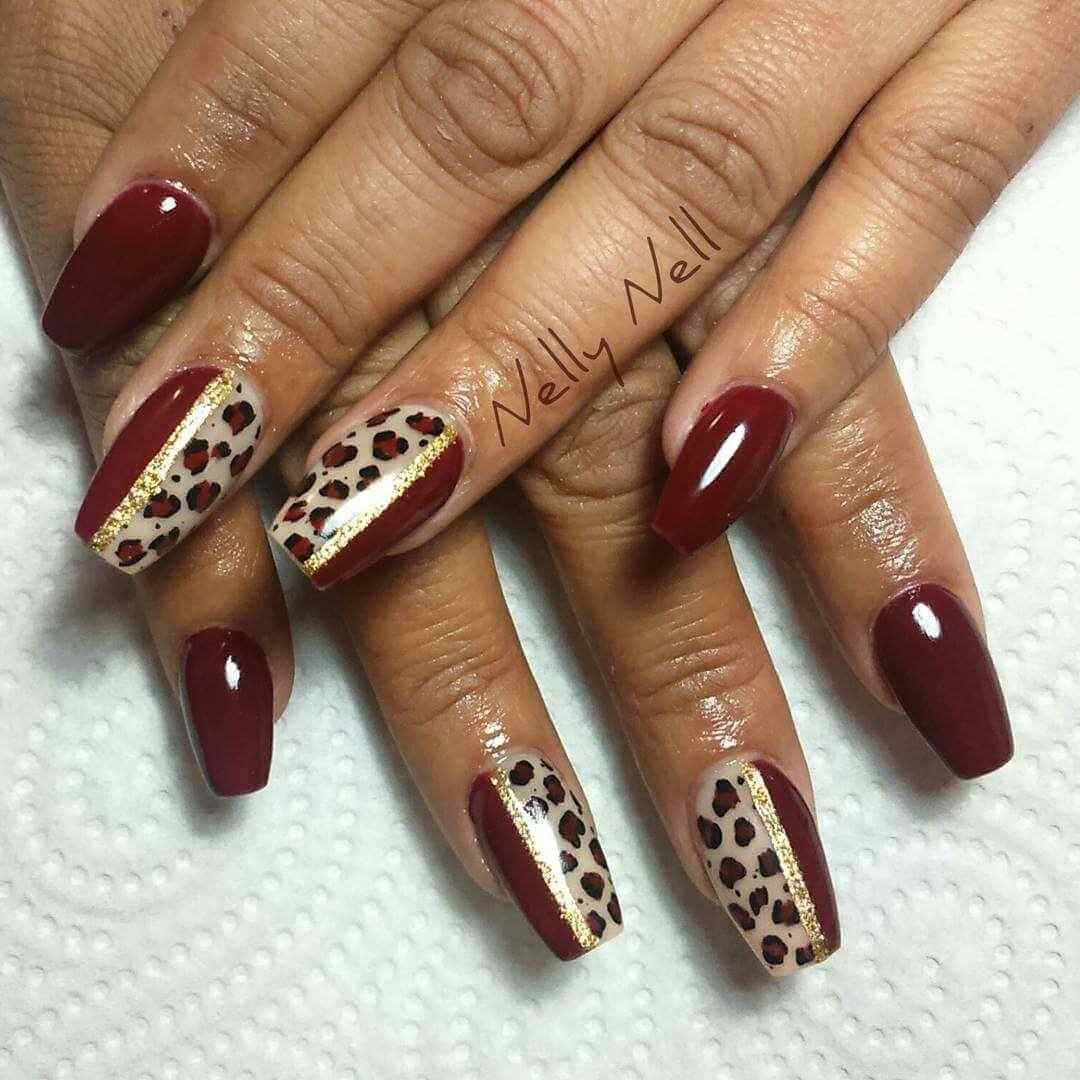150 u as decoradas animal print u as decoradas nail art for Decoracion 2017