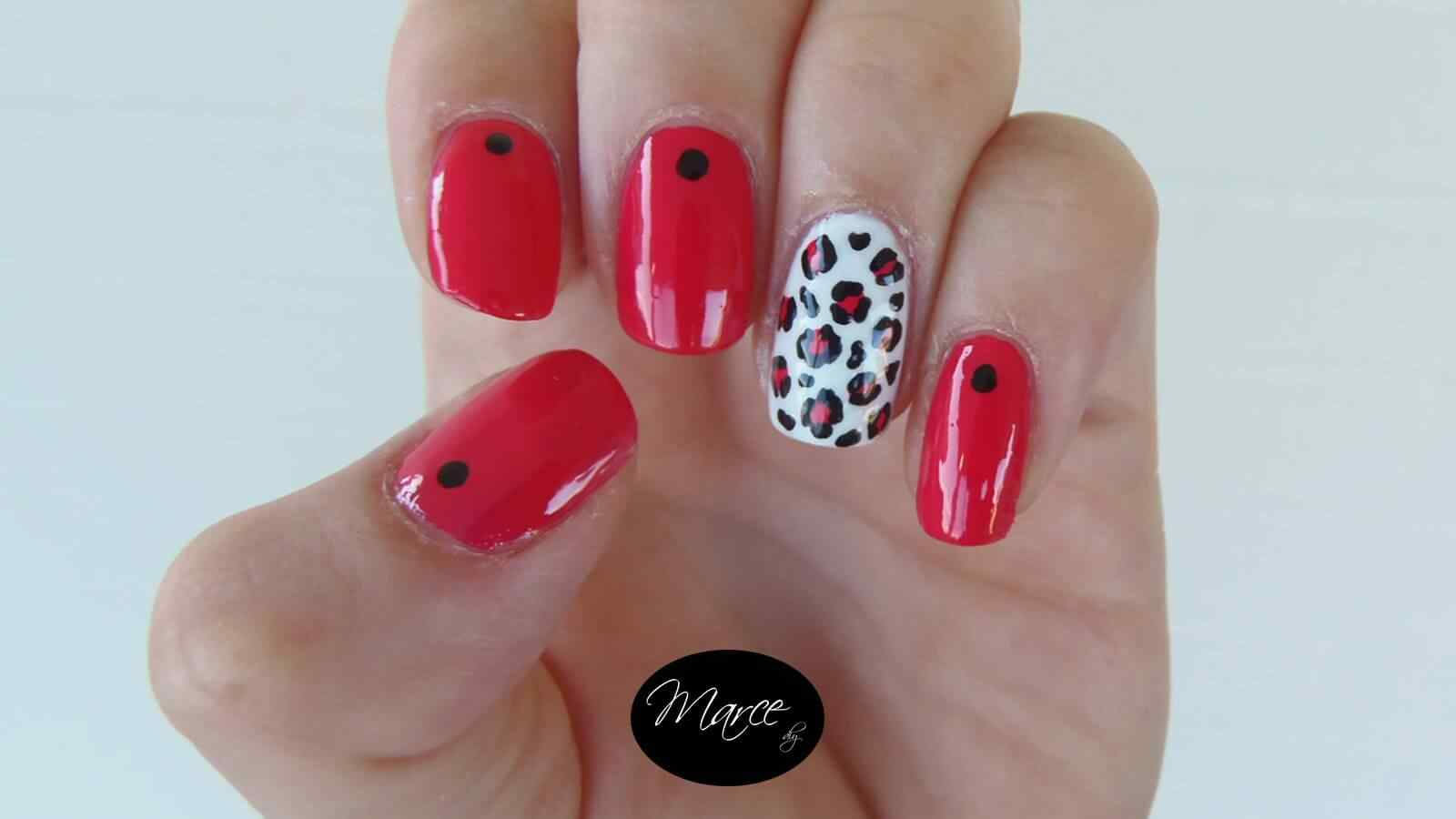 150 Uñas decoradas animal print 1