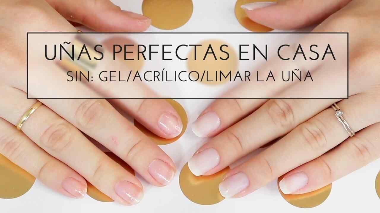 cuidado de las uñas manicura