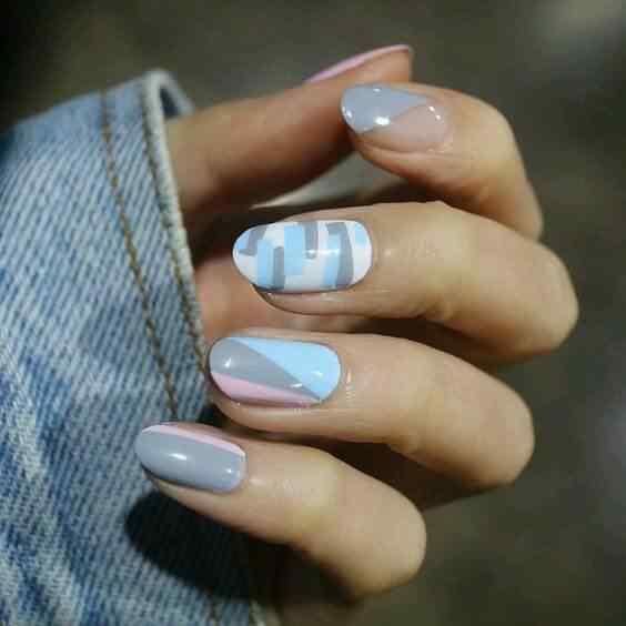 decoracion de uñas ovaladas