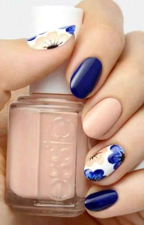 decoracion de uñas redondas