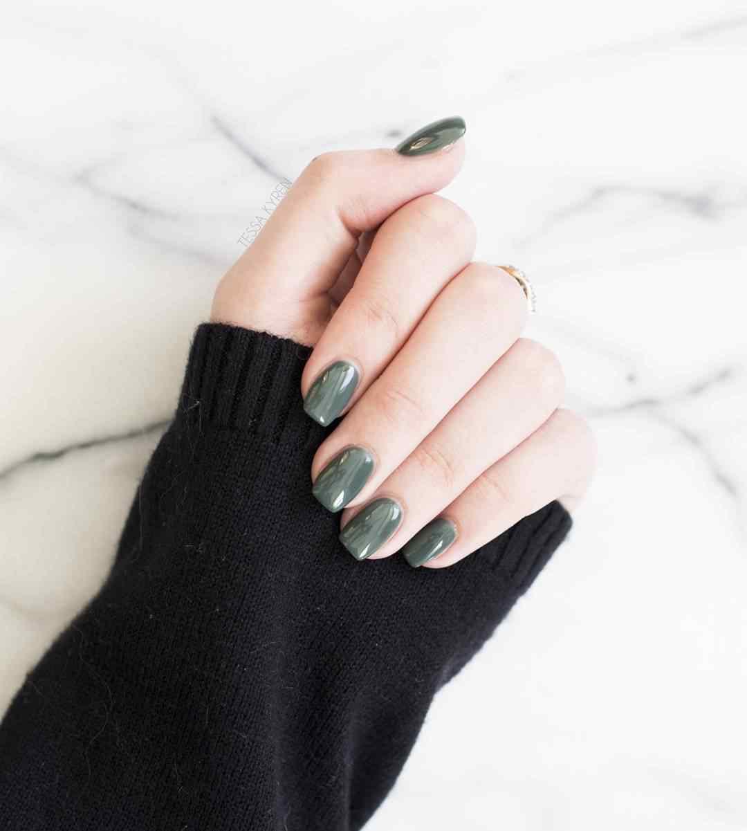 imagenes de uñas Squoval