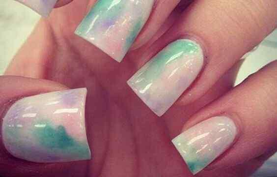 imagenes de uñas cuadradas