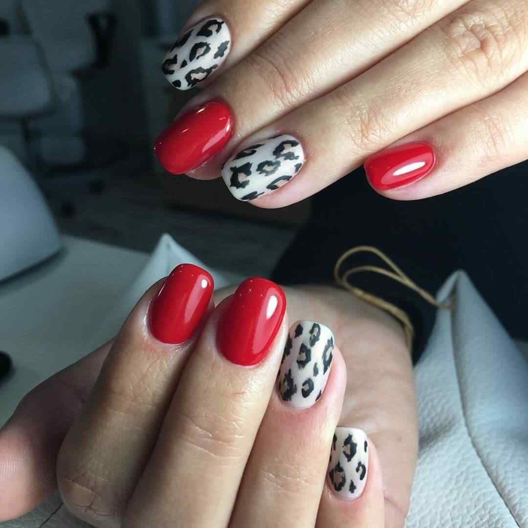 Estilo animal print o leopardo