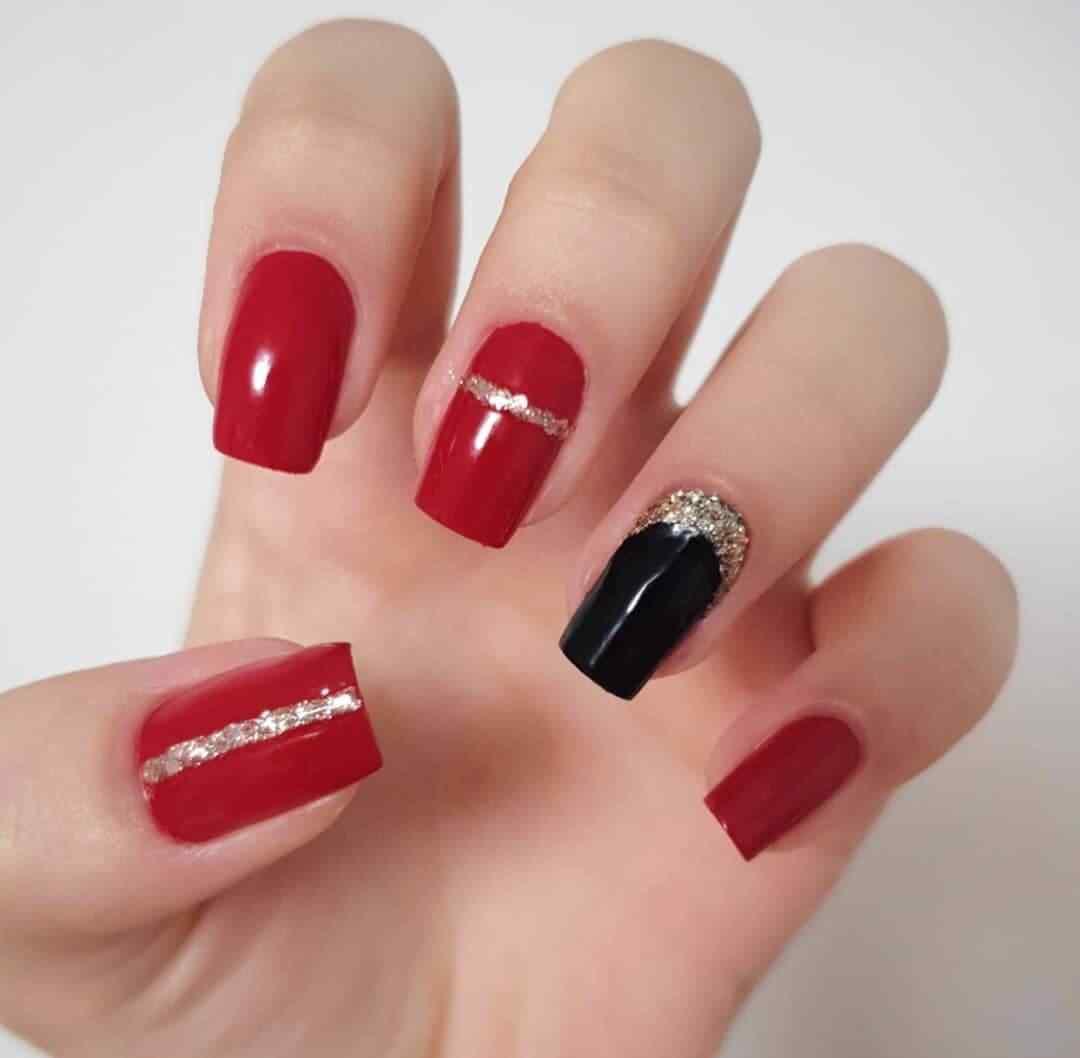 Uñas Rojas Decoradas Mas De 100 Diseños Imperdibles
