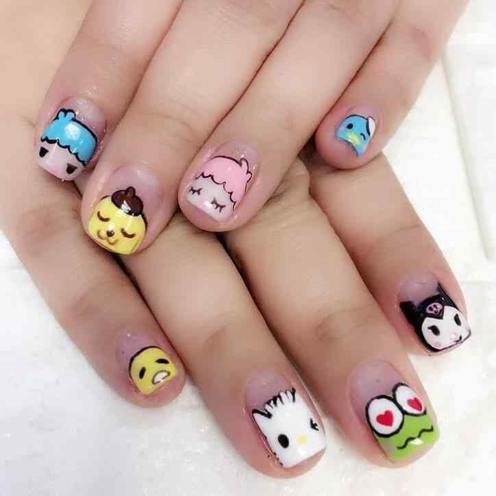 decoracion de uñas bonitas para niñas