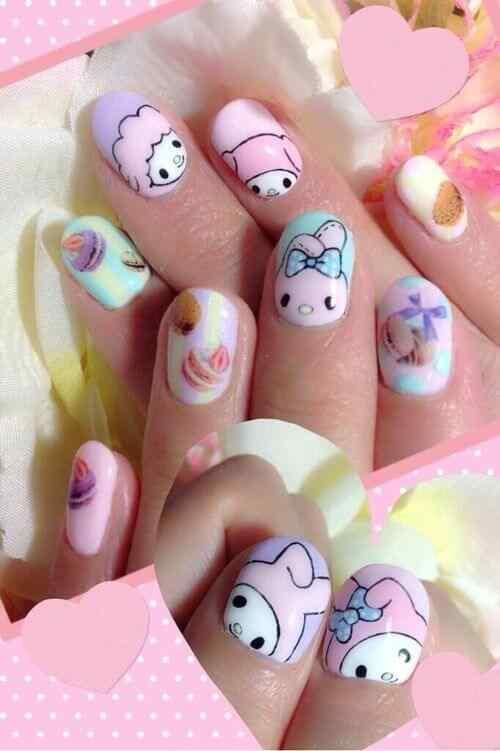 dieño uñas infantiles