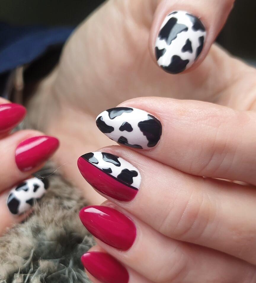 diseños de uñas estampado animal