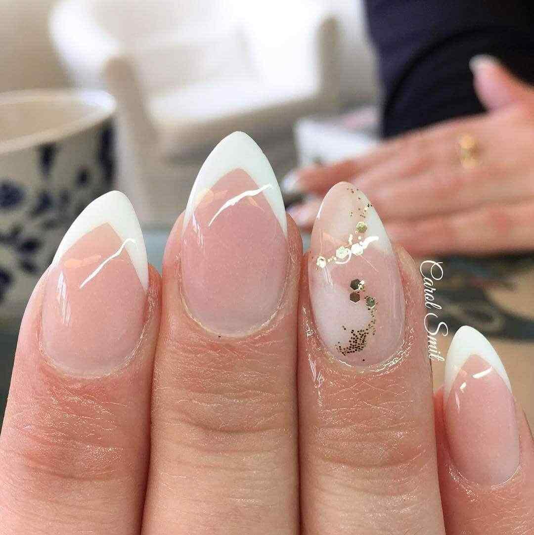 diseño de uñas acrílicas casamiento