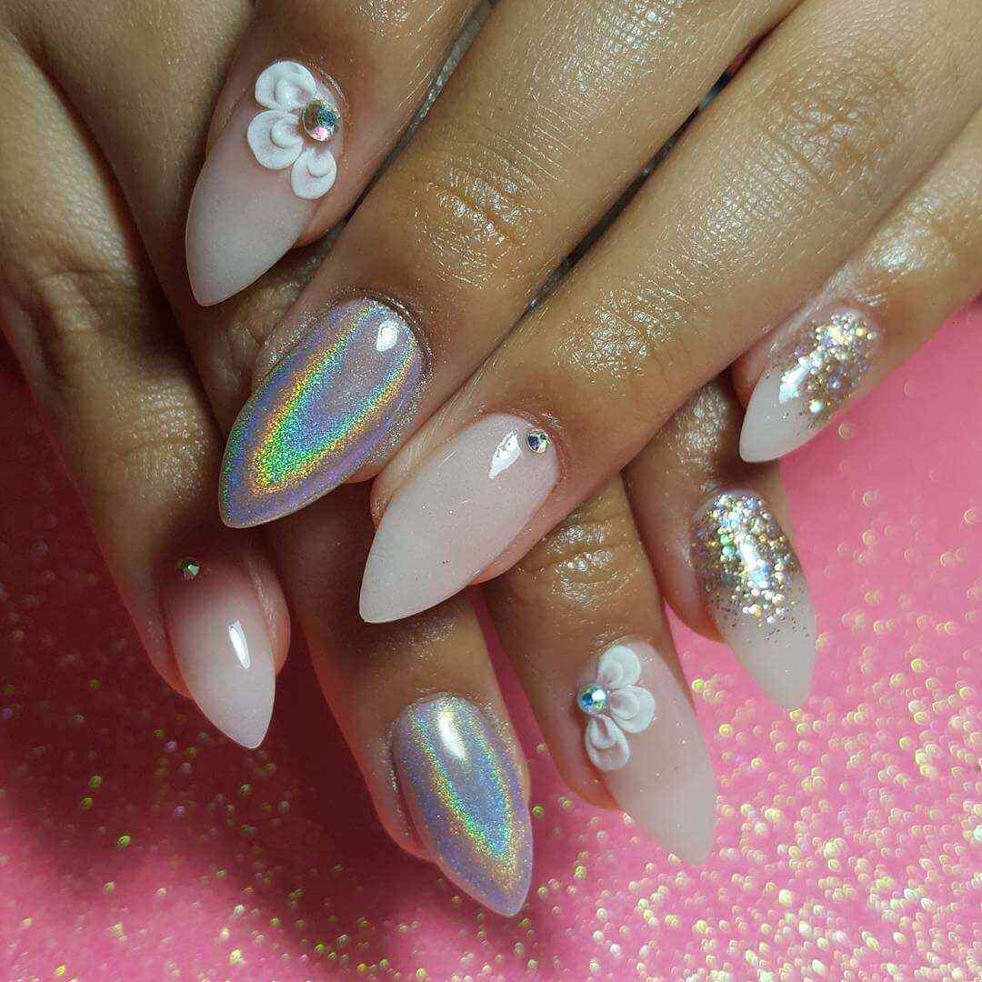 diseño de uñas acrílicas para bodas